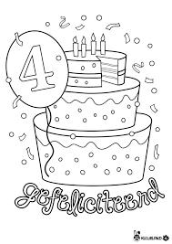 Ith Kleurplaat Gefelicite Kleurplaat Verjaardag Kleur Dejachthoorn