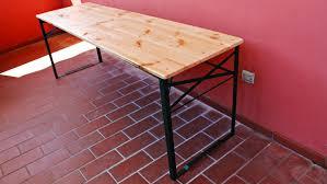 Tavoli Da Giardino In Pallet : Costruire un tavolo pieghevole con i pallet fai da te