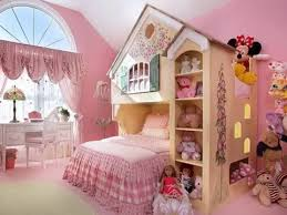 Teenage Girls Room Decorating Ideas With Beautiful Wall Painting and Accent