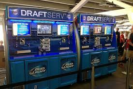 Baseball Card Vending Machine For Sale Amazing Twins Debut Selfserve Beer Machines At Target Field Twin Cities