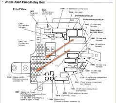 rsx fuse box diagram rsx wiring diagrams