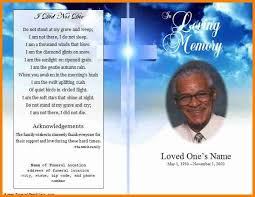 Funeral Programs Samples Stunning 48 Free Funeral Program Layout Quick Askips