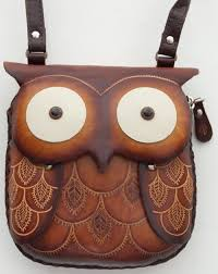 unique hand made leather owl pouch 43 00 owl purse owl jewelry artis owl