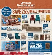 World Market Early Black Friday 2014 Sales 25% OFF All Furniture