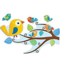 <b>Boho Birds</b> Bulletin Board Set