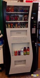 Genesis Vending Machine Manufacturer Simple 48 GO48 Electronic Snack Drink Combo Vending Machine Used
