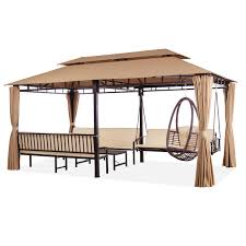Pendant Gazebo Heater With Light Ajanta All In One Gazebo
