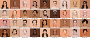 Pantone Skin Tone Chart The Photographer Creating A Pantone Colour Chart For The