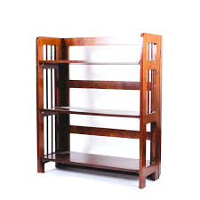bookcases folding wooden bookcase modern wood ladder shelf