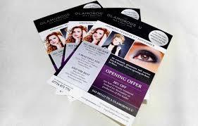 Glamorous U Hair Beauty Flyer Design And Print