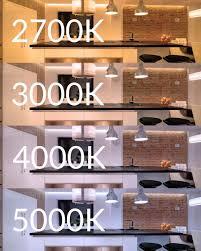 Light Bulb 5000k Vs 6500k What Led Strip Light Color Temperature Should I Choose