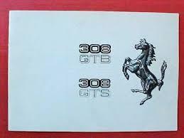 1979 ferrari 308 gts sports car. Ferrari 308 Gtb Gts Sales Brochure Catalogue 147 77 Ebay