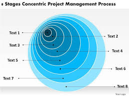 Sample Business Organizational Chart Stages Concentric