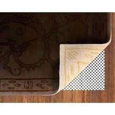 carpet pad under area rug padding grippers rugs the home depot non slip safety to floor