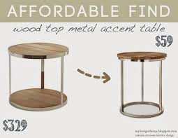 metal accent table innovative round metal accent table