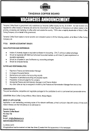 Senior Accountant Grade I Tayoa Employment Portal
