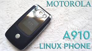 Phone Throwbacks: Motorola A910 - Linux ...