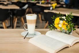 fresh flower vase over wooden table