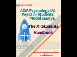 aqa psychology as psya a students model essay answers  aqa psychology as psya2 a students model essay answers