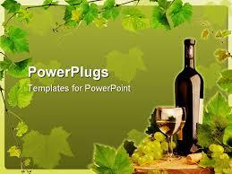 Wine Border Template Wine Powerpoint Template Tmpltdl