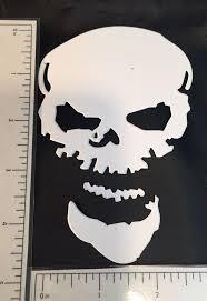Tim Holtz Halloween Die Cuts Sinister Spooky Skulls | Etsy