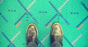 Portland International Airport s new carpet People revolt