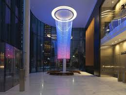 the beacon an interactive led light installation at pittsburgh s pnc tower that communicates building performance