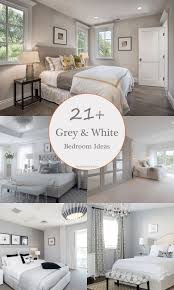 21+ Most Fabulous Grey and White Bedroom Ideas to Get Inspired by ...