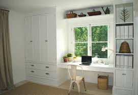 ... Captivating Wall Unit With Built In Desk Wall Unit Computer Desk White  Shelves ...