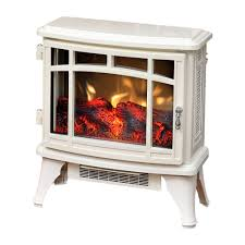 duraflame 8511 cream infrared electric fireplace stove with remote control dfi 8511 04