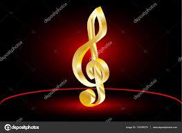 Houslový Klíč Hudba Clef Stock Vektor Danler 133375374