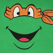 ninja turtles michelangelo face. Teenage Mutant Ninja Turtles Michelangelo Face Graphic TShirt SuperheroDencom And