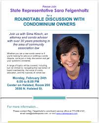 roundtable discussion with condo owners