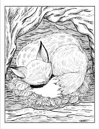 Special Fox Coloring Pages Inspiring Coloring #1336 - Unknown ...