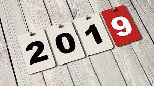Bildresultat för bild kalender 2019