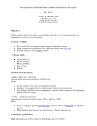 Medical Office Assistant Resume Luxury Collection Solutions General
