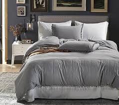 perfected duvet cover set with zipper closure microfiber bedding set with furry little 3