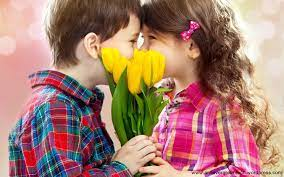 Cute Baby Couple Kissing (Page 1 ...