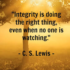 Quotes About Integrity Magnificent Integrity Quote Leader Journey
