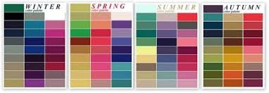 Seasonal Color Chart How To Transition Your Wardrobe From Summer To Fall Spring