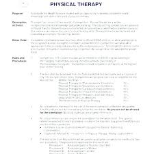 School Physical Therapist Sample Resume Ruseeds Co