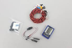 Комплект <b>светотехники Fuse</b> Flashing <b>LED</b> Lighting Kit for 1:10th ...