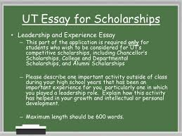 financial aid presentation  thesaurus 10 ut essay