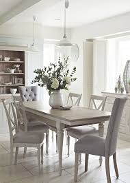 incredible chic white dining room table and chairs set within 2623