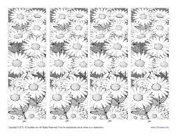 Download from our huge collection of free printable bookmarks for kids. Free Printable Bookmarks For Kids Coloring The Spring Season