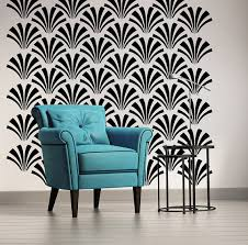 art deco wall stickers
