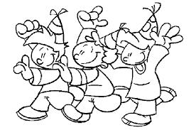 Carnaval Kleurplaat Animaatjesnl