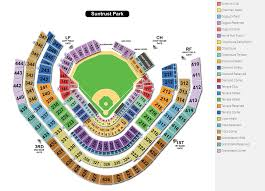 Clean Interactive Seating Chart Turner Field Braves Seating
