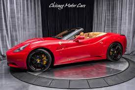 Used 2011 Ferrari California Convertible Carbon Fiber Driving Zone Leds For Sale Special Pricing Chicago Motor Cars Stock 16128
