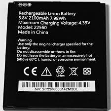 3.8V 2100mAh 22560 For BenQ F3 Battery ...